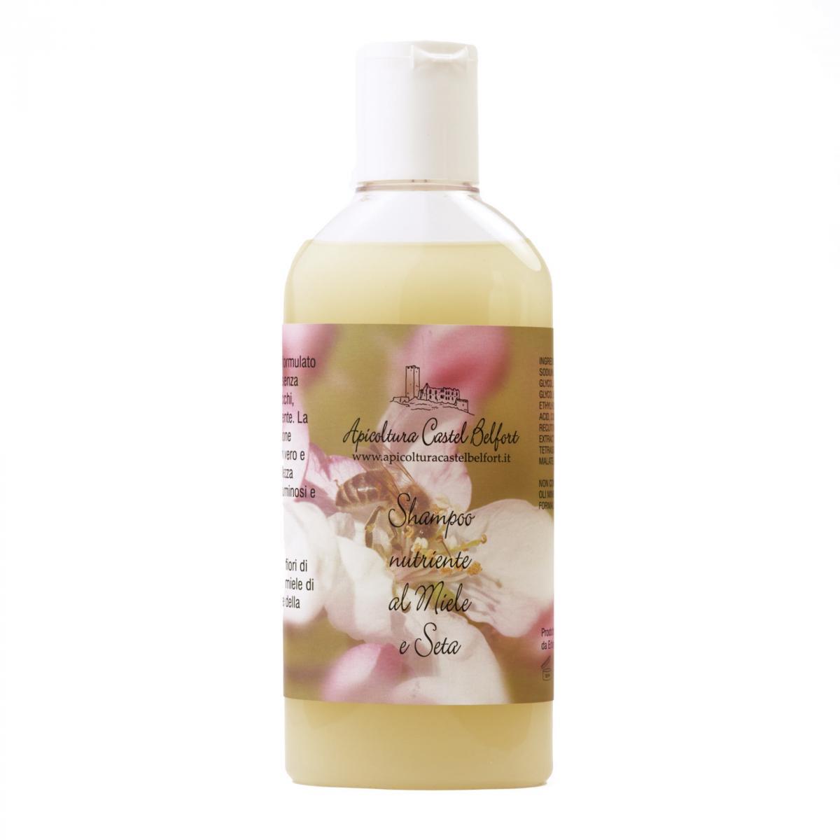 Shampoo nutriente miele e seta