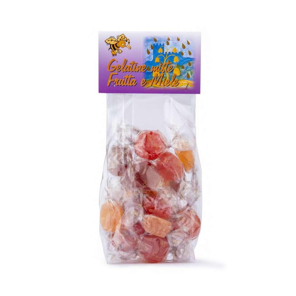 gelatine misto frutta