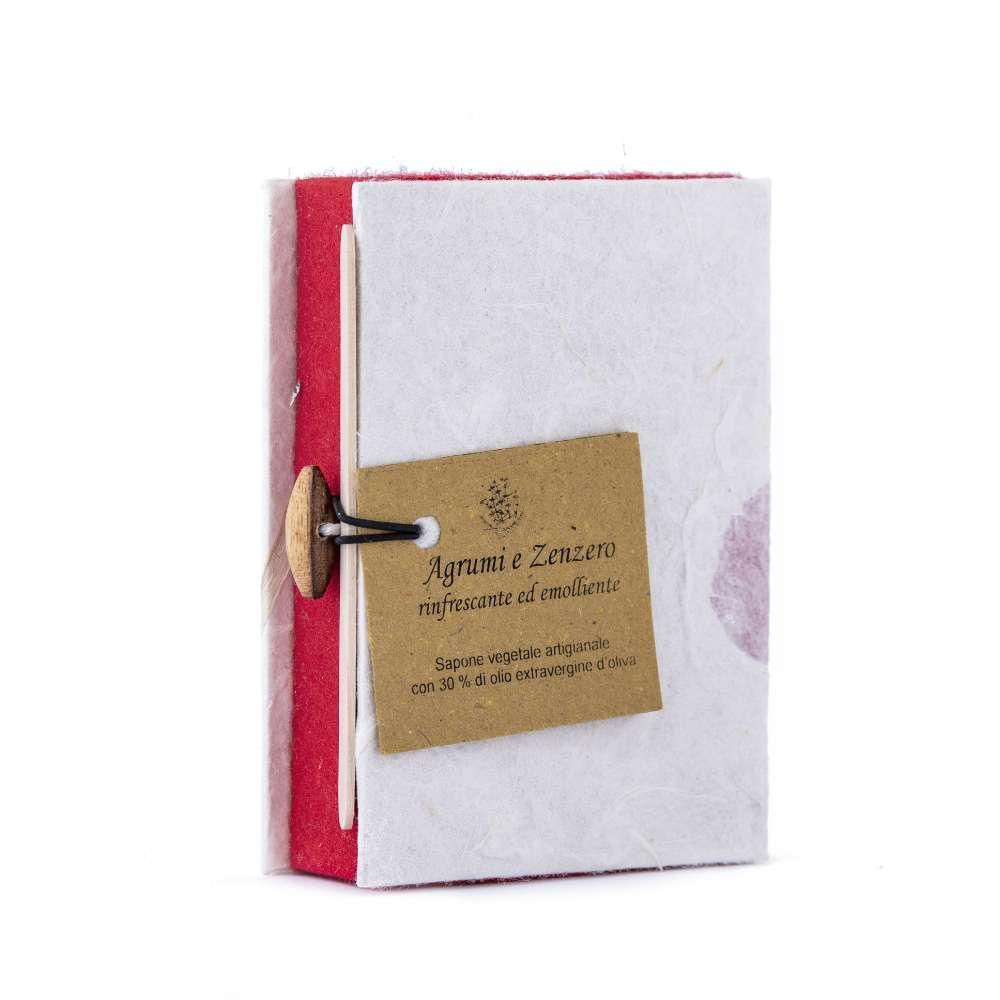 2 Saponette in confezione regalo rossa