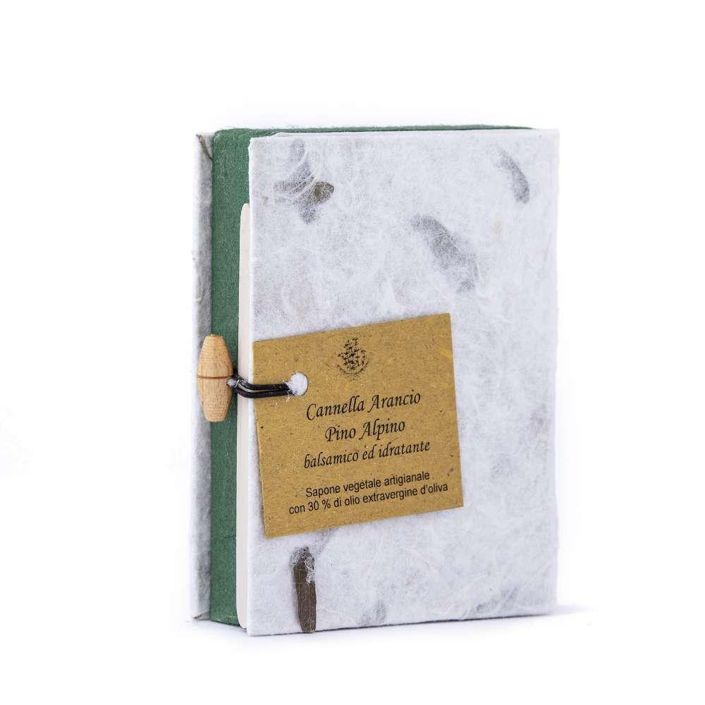 2 Saponette in confezione regalo verde