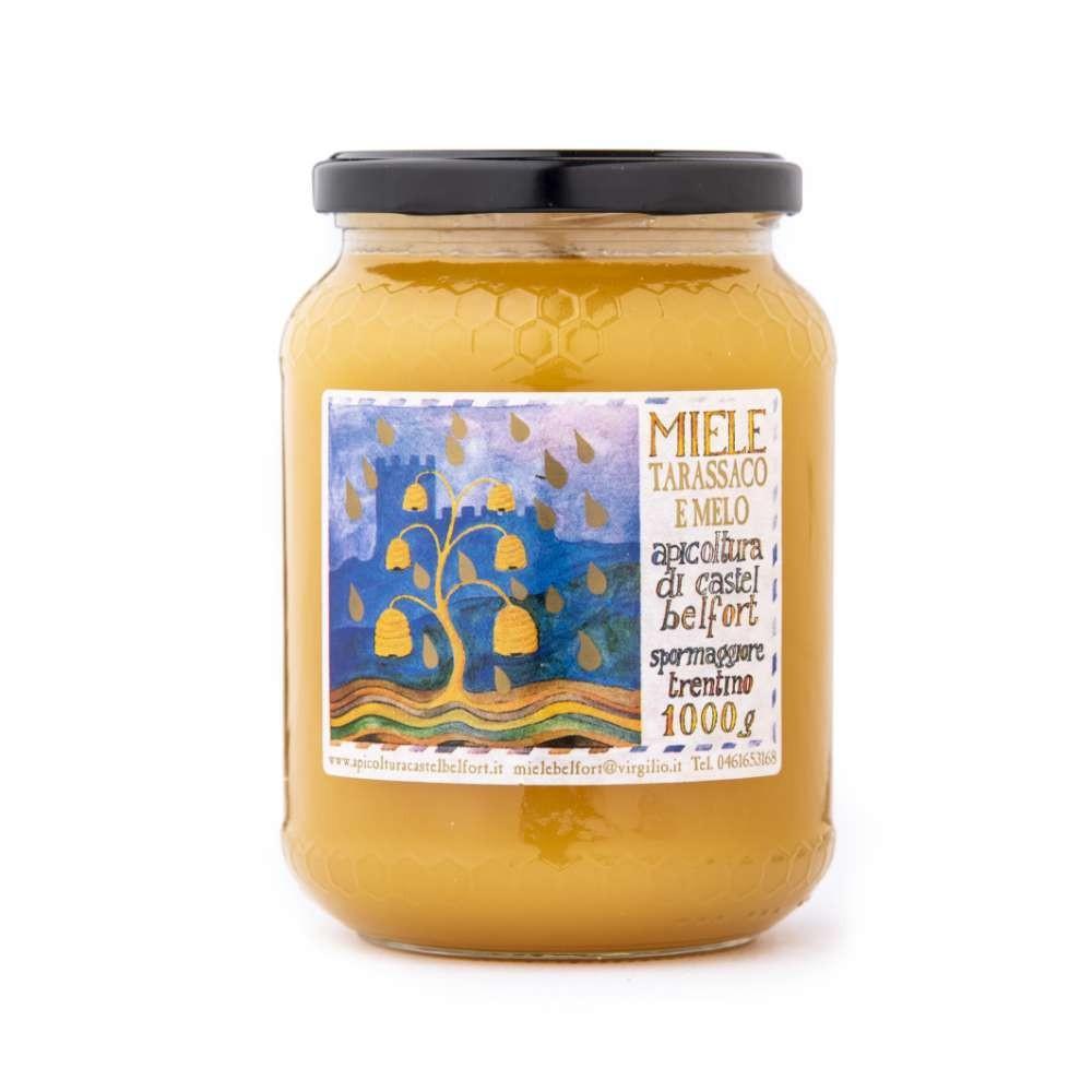 Miele di tarassaco e melo