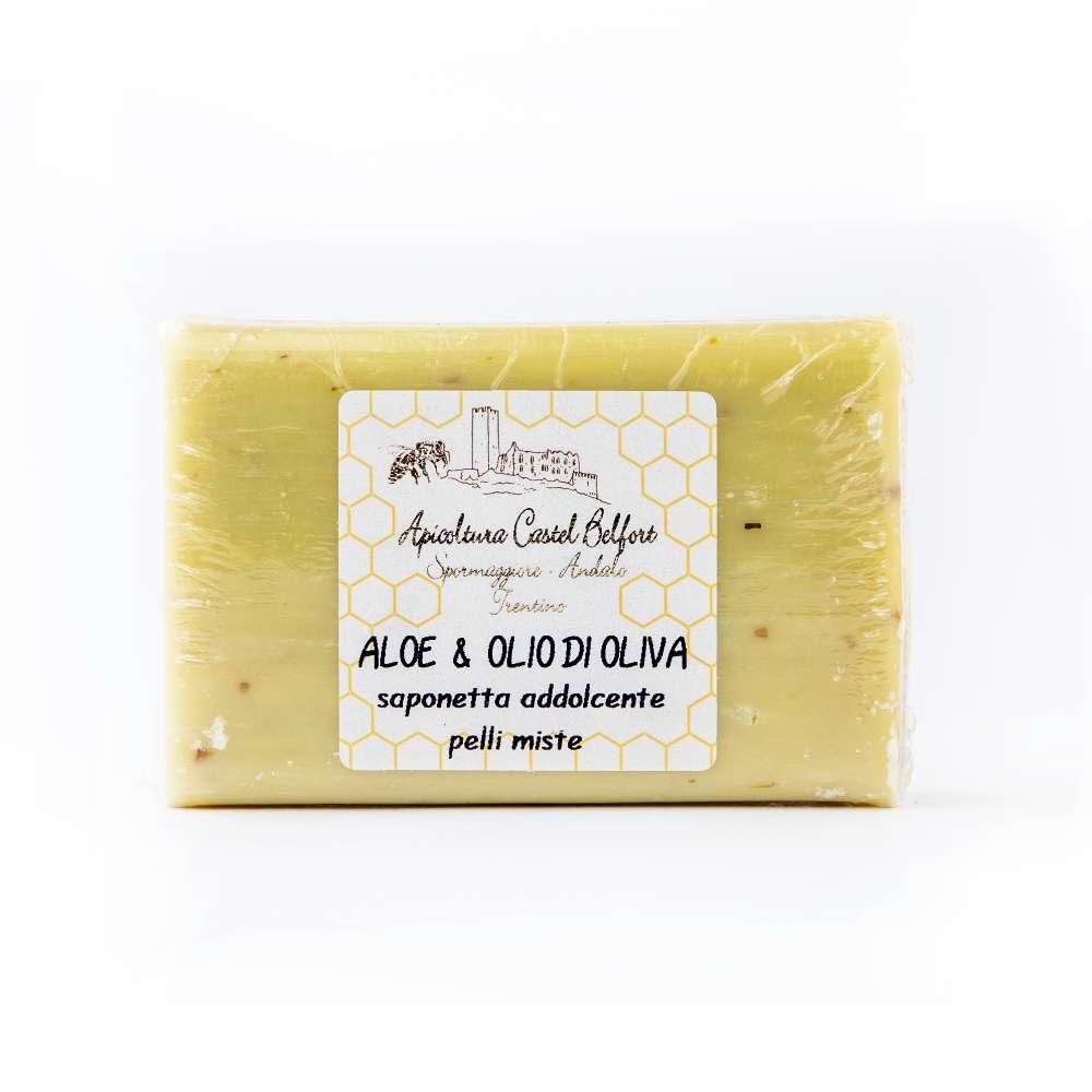 Saponetta erboristica all'aloe e olio d'oliva