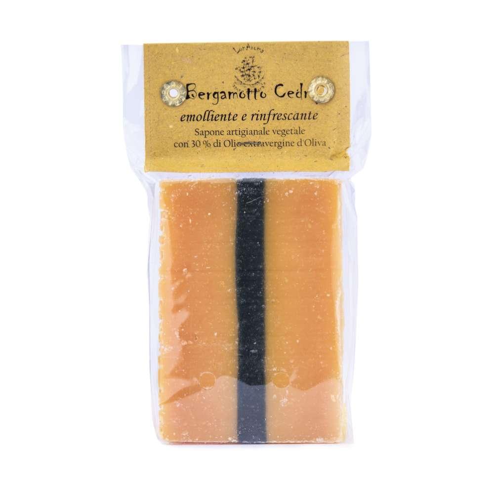 Saponetta al bergamottoe cedro (olio di oliva)