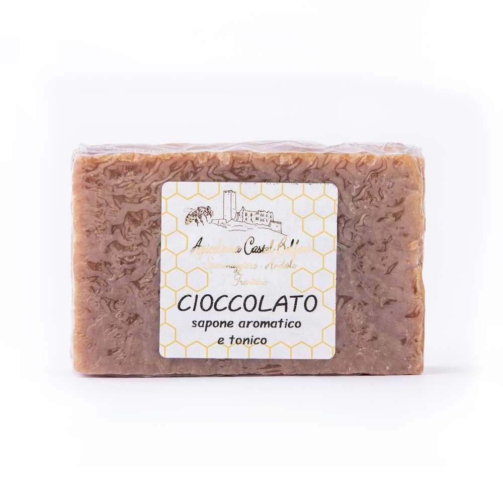 Saponetta al cioccolato (olio di cocco)