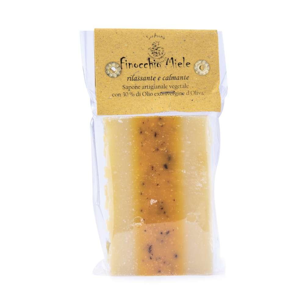 Saponetta al finocchio e miele (olio di oliva)