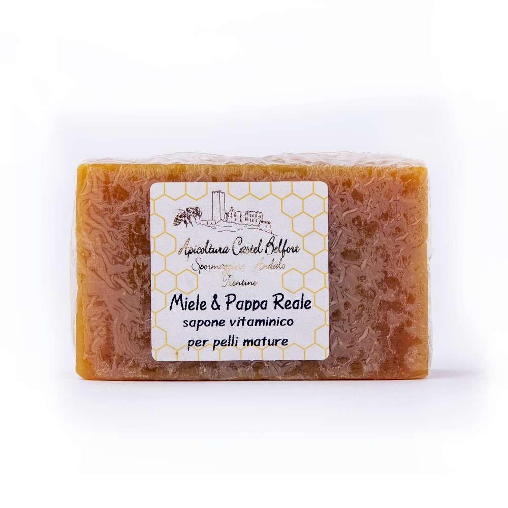 Saponetta miele e pappa reale (olio di cocco)