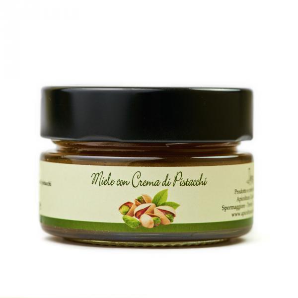 Miele con crema di pistacchi